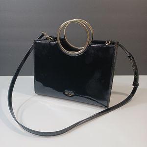 KATE SPADE Sam patent bracelet satchel bag